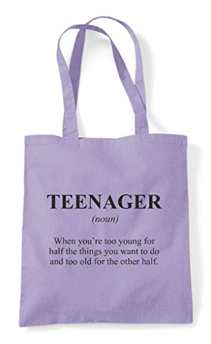 The Teenager Not Tote Bag Dictionary In Funny Lavender Definition Alternative Shopper pfFAq