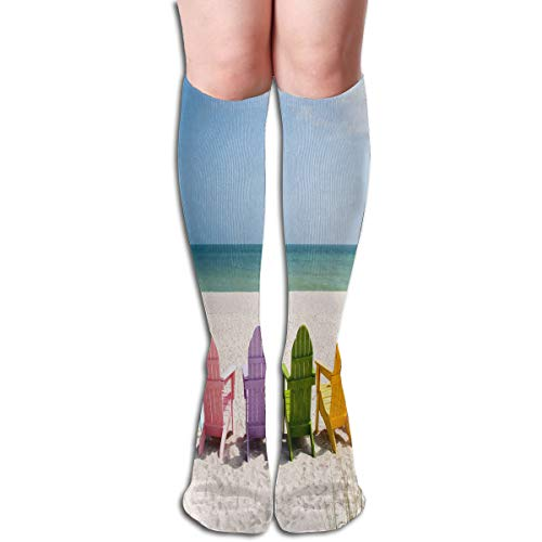 Feier-custom Socks Summer Beach Chair Customized Womens Stocking Decoration Sock Clearance For Girls