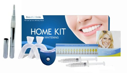 Zero Peroxide Beautiful Smile Complete Home Teeth Whitening System. Ideal for Sensitive Teeth