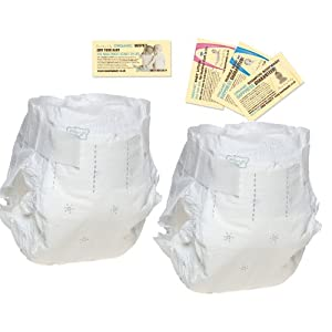 2 Nappies – Naty Size 2 Trial Pack (3 to 6 kg, 6 to 13 lbs)