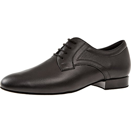 Diamant Mens Dance Shoes 085-026-028 - Black Leather - Extra Wide zViLnr8