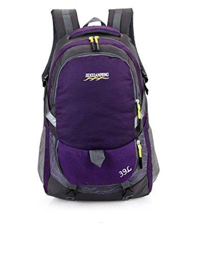 HCLHWYDHCLHWYD-Mujer bolso del alpinismo al aire libre del paquete de gran capacidad de la universidad bolsa de deportes del bolso del bolso del bolso hombre mochila de viaje Estudiantes , 5 7