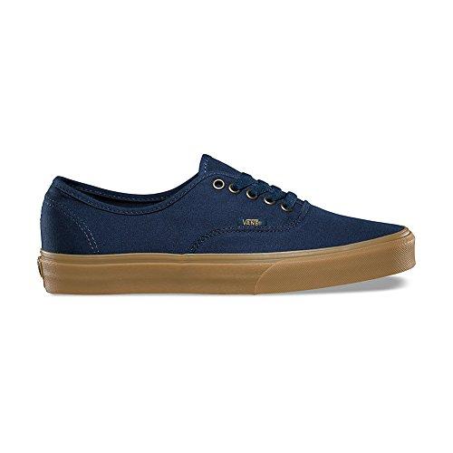(Vans Authentic Shoes UK 11 Light Gum Dress Blues)