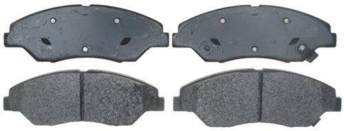 ACDelco 17D774M Professional Semi-Metallic Front Disc Brake Pad Set