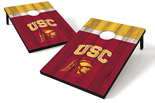 Wild Sports NCAA College USC Trojans Tailgate Toss Bean Bag Game Set, 36