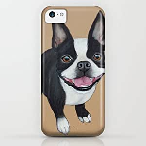 Society6 - Boston Terrier iPhone & iPod Case by PaperTigress