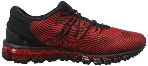 red Alert Gel 600 Para 4 quantum Asics Zapatillas De Rojo 360 Hombre Entrenamiento black gOvwdP