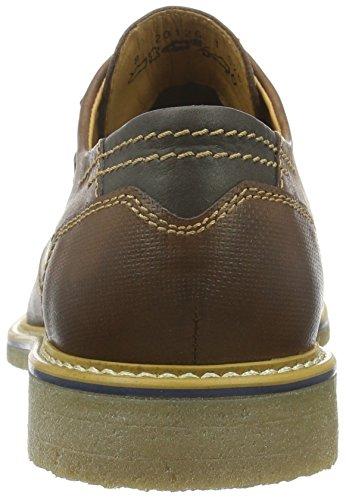 Men De Hombre Marrón 82 Zapatos Cavallo Fretz Andrew Derby Cordones Para SwPtOOUdqx