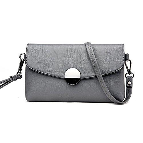 del piccolo spalla borsa Lavorano spalla femminile green quadrata di sei NVBAO green sacchetto sacchetto obliquo borsa di sacchetto del grass colori Sacchetto grass wqvYBZt