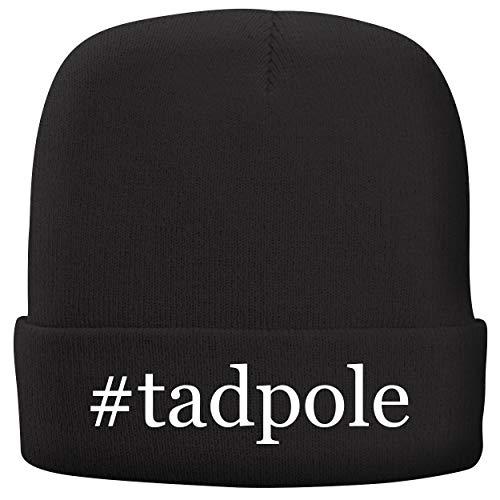 #Tadpole - Adult Hashtag Comfortable Fleece Lined Beanie, Black