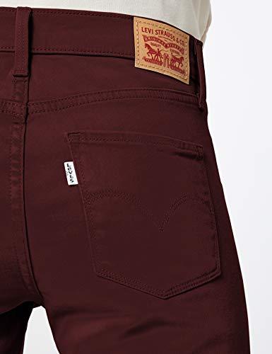 Mujer Skinny 311 Jeans maroon Levi's Para Marrón xBgIz44nwq