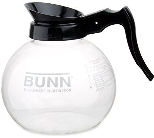 BUNN Easy Pour Replacement Decanter, Simple Black