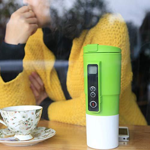 4c030ecddac Smart Temperature Control Travel Coffee Mug Eastmount Electric Heated  Travel Mug 12V Stainless Steel Tumbler Smart