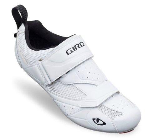 Giro Mele Triathlon Shoes White, 43.5