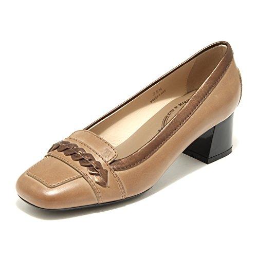 Donna Scarpa 32526 Oy Tods Shoes Decollete Marrone Masch Chiaro Women pwIqOXS