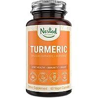 Turmeric Curcumin with BioPerine (Black Pepper Extract)   Highest Potency 95% Curcuminoids...
