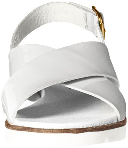 Bos. & Co. Mujeres Calem Platform Dress Sandalia Blanco
