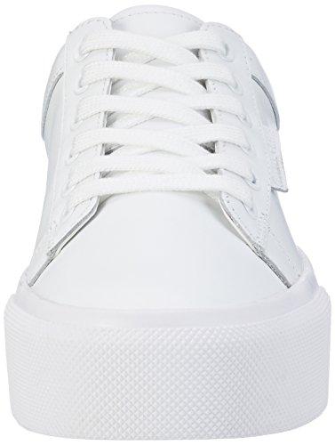 Kendall and Kylie Damen Kktyler Sneaker Weiß (White Brunner Soft Leather)