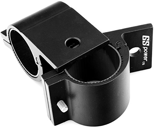 GS Power's Bracket Clamp | choice of 1/1.25/1.75/2 inch. Mount LED Light Bar, Safety Flag, Antenna onto Bar Tube Rack Roll Cage Bumper on Boat Truck ATV Can-Am Bike (2 ()