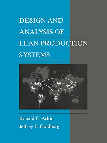 Design & Analysis of Lean Production Sys