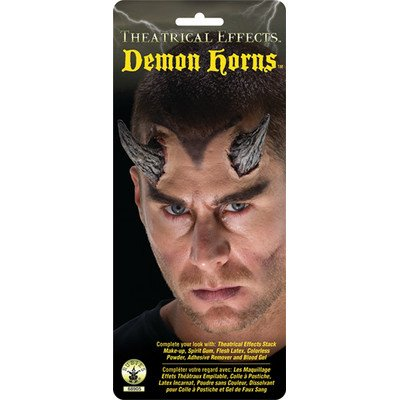 [Rubie's Costume Co Theat Effects-Demon Horns Costume] (Three Group Costumes)