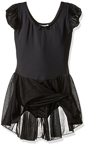 Capezio Girls' Flutter Sleeve Dress Leotard