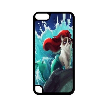 [iPod Touch 5 5th Generation Anti Slip Casing for Grumpy Cat] (Night Fury Costume For Cat)