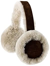 Snugrugs Ladies Full Sheepskin Ear Muffs with Gift Box, Brushwood
