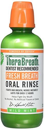 TheraBreath Oral Rinse with Dosage Cap-16 oz