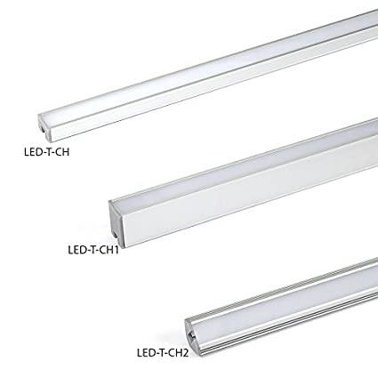 WAC Lighting LED-T-CH2 Contemporary Angled Aluminum Tape