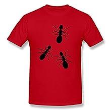 HEYFORG Ants Tee For Mens Red