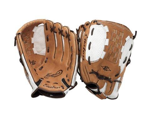 Easton NE120FP Girl's Fastpitch Glove (Left Hand Throw, 12-Inch ) (Softball Easton Glove Inch 12)