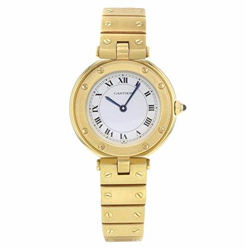 Cartier Santos analog-quartz womens Watch N/A (Certified Pre-owned)