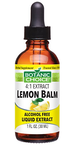 Botanic Choice Lemon Balm Alcohol Free Liquid Extract, 1 Fluid Ounce