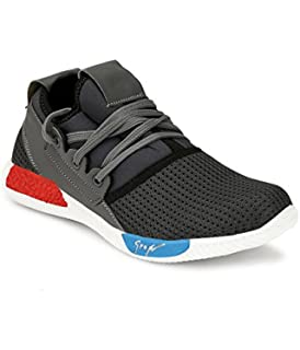 de09c565ddc Nickolas Men in Fashion Outdoor Canvas Casual Light Weight Lace-up Evening  Walk Running Shoe