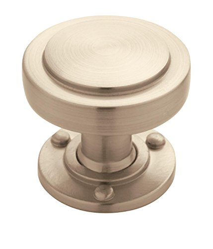 Amerock BP53710G10 Rochdale 1-1/4 in (32 mm) Diameter Satin Nickel Cabinet Knob (Rochdale Collection)