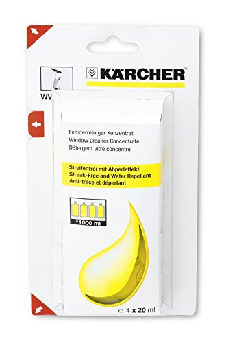 Karcher Window Cleaner Concentrate for Window Vac Spray - Window Cleaning Formula