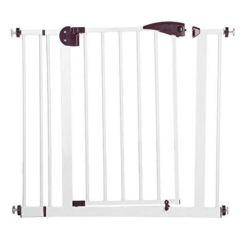 Cocoarm Baby Auto Close Security Gate,Easy Open Extra Tall Thru Gate with Pet - Autolock Pet Gate