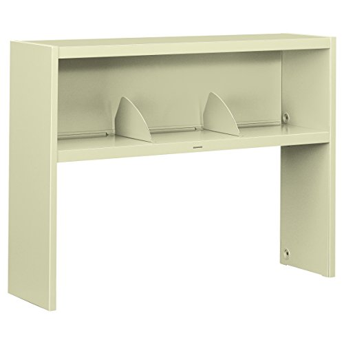 48 Sideboard (HON 386548NL 38000 Series Stack On Open Shelf Hutch, 48w x 13 1/2d x 34 3/4h, Putty)