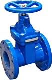 IrrigationKing RKT4 4'' Cast Iron Gate Valve with Rubber Wedge