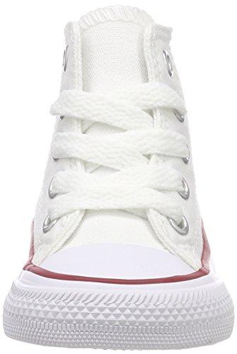Converse Bianco Sneaker Unisex Optical 015860 Hi 34 Blanc 3 bambini Ctas Core xYn6rBxz