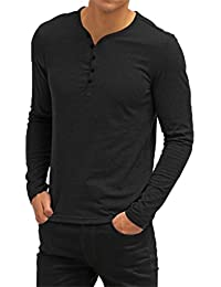 "<span class=""a-offscreen"">[Sponsored]</span>Mens Summer Casual V-Neck Button Cuffs Cardigan Short Sleeve T-Shirts"