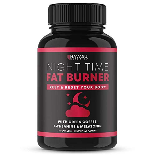 Havasu Nutrition Night Time Fat Burner | Metabolism Booster, Appetite Suppressant & Sleep Supplement to Support Weight…