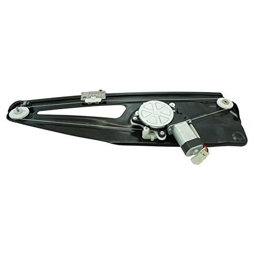Rear Power Window Regulator w/Motor RH RR Passenger Side for 03-09 Range ()