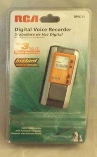 RCA Digital Voice Recorder RP5011