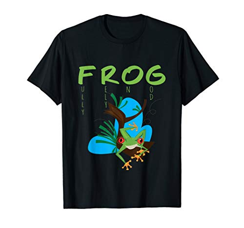 (Fully Rely on God Red Eyed Tree Frog Shirt Christian)