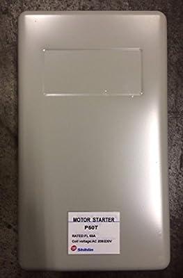 15 HP Three Phase Magnetic Starter Motor Control, Shihlin P50T, 65 FLA, 208/230V