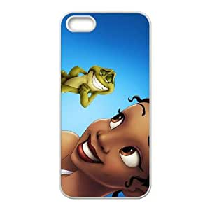 iphone5 5s White phone case Disney Princess Tiana DPC8439645