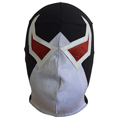Bane Supervillian Batman Lucha Libre Lycra Mask Adult Luchador Mask Costume Wear
