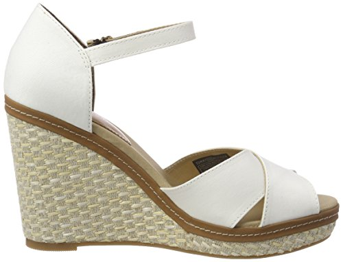 Elena Basic Hilfiger Whisper Iconic Bianco Donna 121 White Tommy Espadrillas qp6Twwg